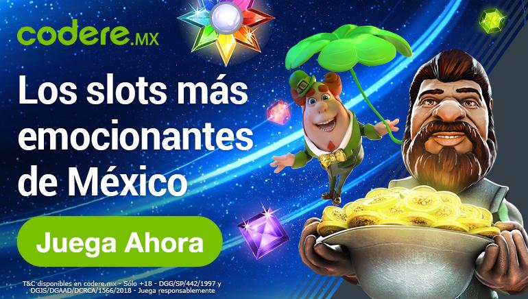 Los mejores juegos en vivo en Codere Casino Mexico