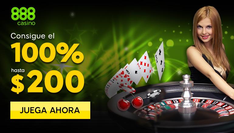 888 Casino - Únase a 888 Casino y obtenga un bono gratis de $ 200