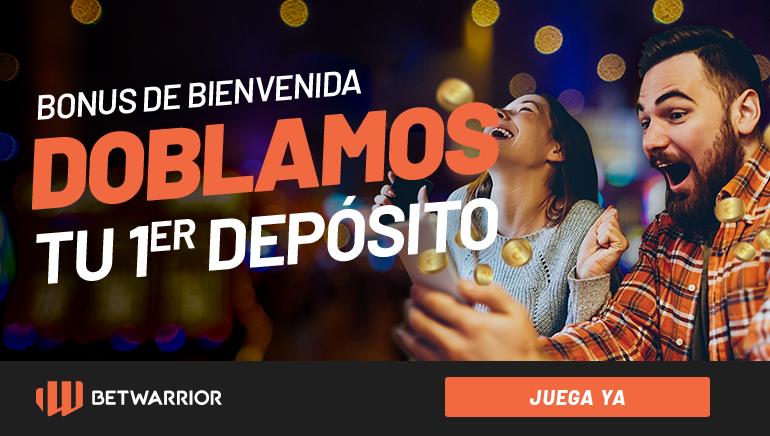 Los jugadores mexicanos pueden recibir un bono de hasta 2.500 pesos con BetWarrior