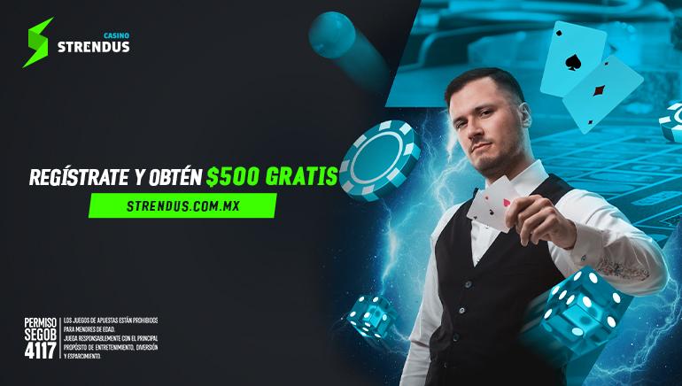 Strendus Casino da la bienvenida a jugadores mexicanos con un Bono Especial
