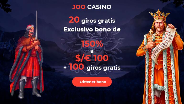 Comienza el 2020 por todo lo alto con Joo Casino, 150% hasta $100 y 100 tiros libres