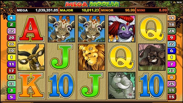 El pozo de Mega Moolah sigue creciendo: supera la marca de los $14.5 millones