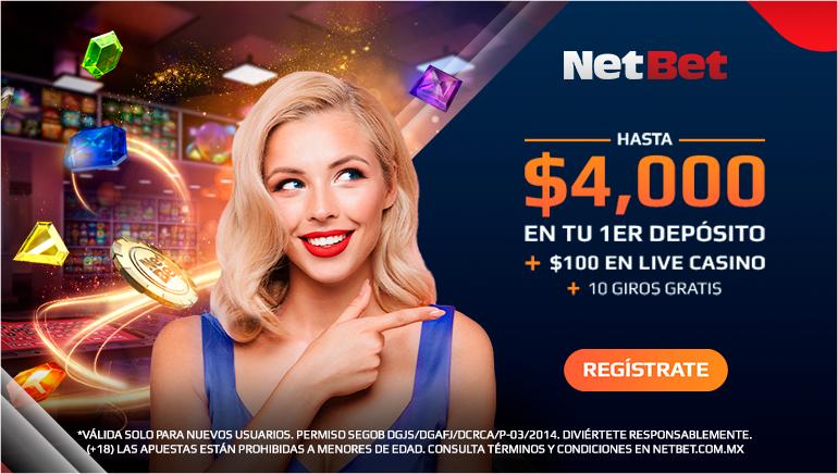 Hasta $4000 en tu 1er deposito + $100 en live casino + 10 giros gratis