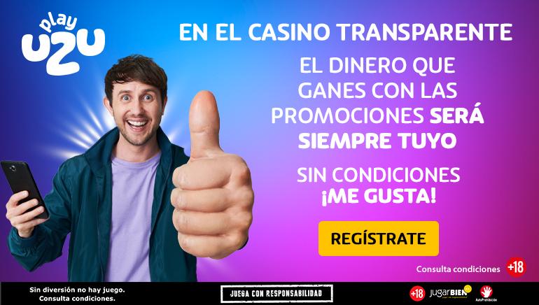 PlayUZU Casino no solo trae los mejores juegos, también te da libertad con tu dinero