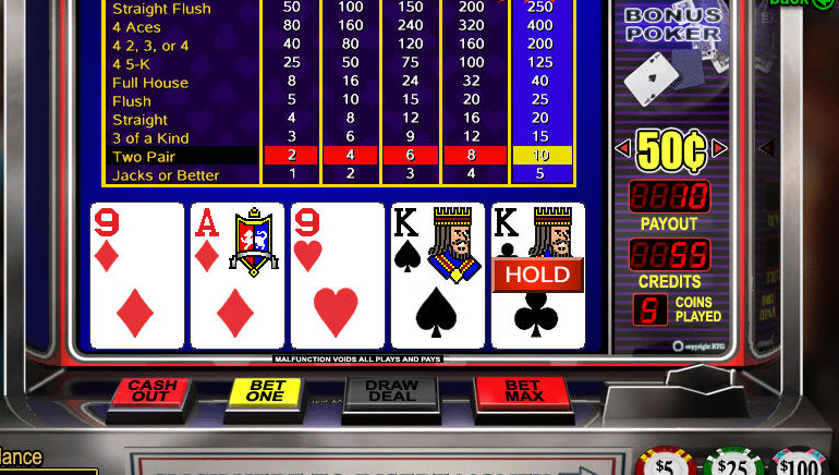 Video Póker Online Gratuito